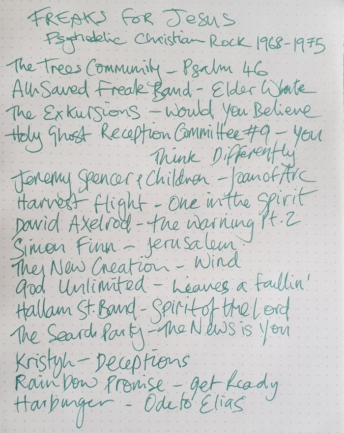 Freaks Tracklist